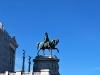 Vittoriano, statua di profilo