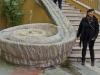 fontana della lumaca con Roby