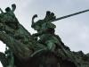 San Giorgio e il drago in Köpmantorget, Gamla Stan