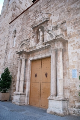 portone della chiesa di Sant'Agostino