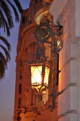 lampione in Plaza del Ayuntamiento