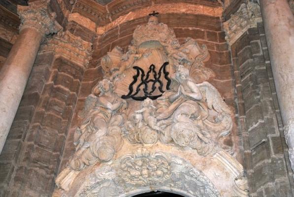 dettaglio facciata de la Seu