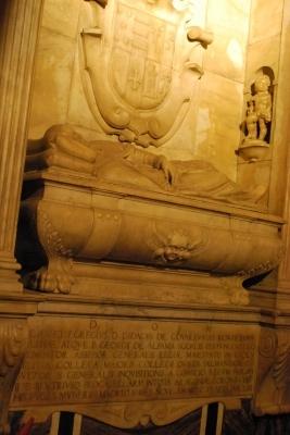 Sepulcro de Don digeo de Covarrubias, Marques de Albaida