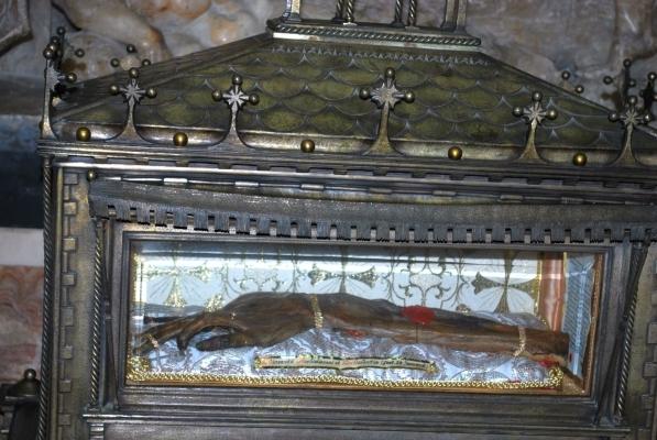 il braccio di San Vincenzo martire