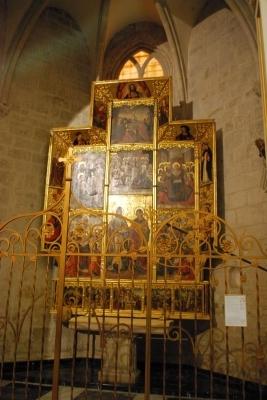 un retablo