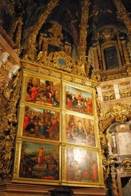 retablo dell'altare maggiore