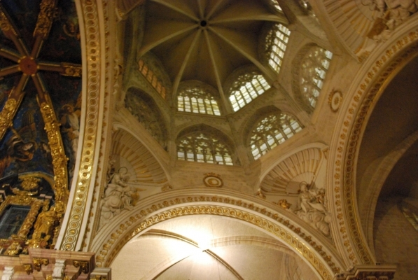 cupola con finestre di alabastro