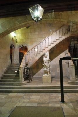 ingresso del Palau de la Generalitat