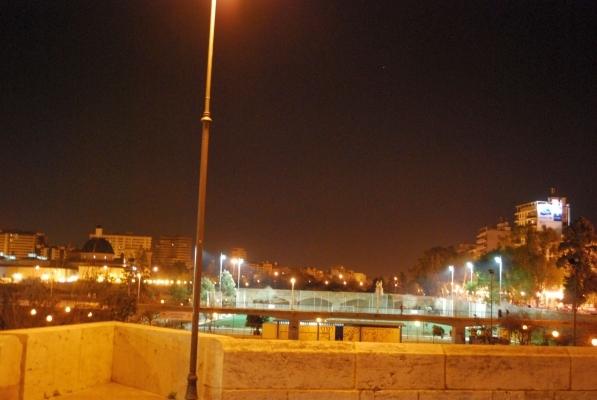 Veduta dal Ponte del Serrans