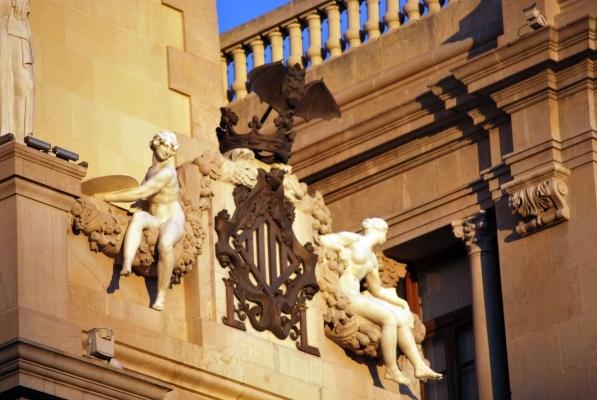 dettaglio facciata Ayuntamiento