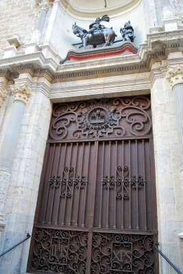 ingresso de Iglesia de San Martin