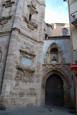 ingresso de la Iglesia de Santa Catalina