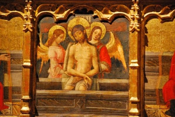 Seu, Gesù nella tomba