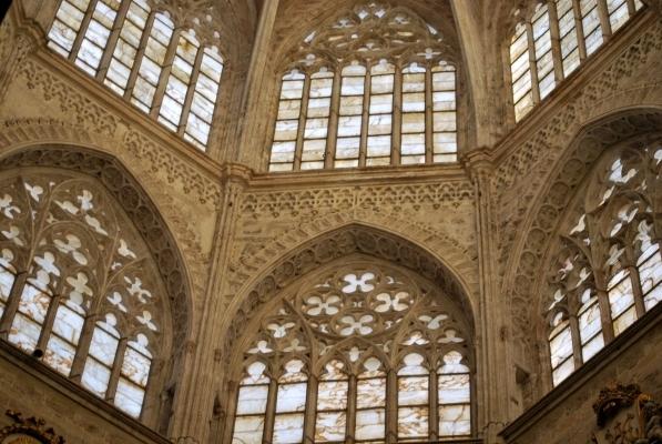 Seu, cupola con finestre in alabastro