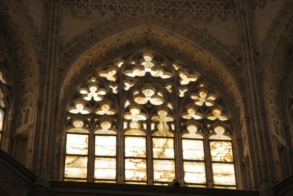 Seu, cupola, finestroni in alabastro