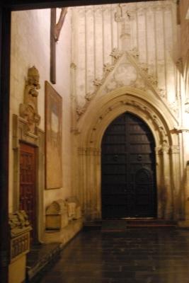 Seu, ingresso Capilla del Santo Caliz