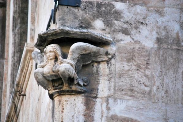capitello del Palau de la Generalitat