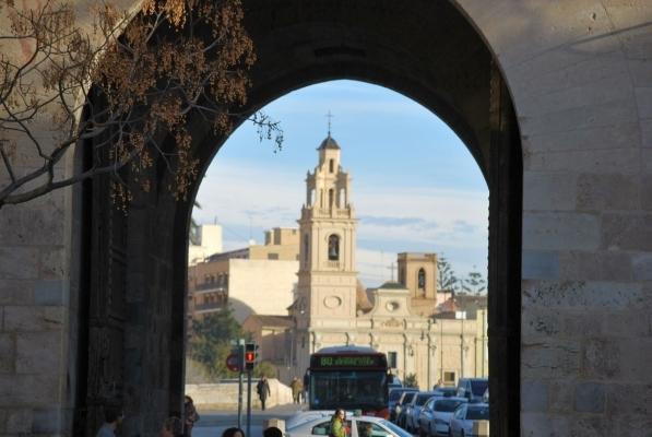 desde Puerta de Serranos