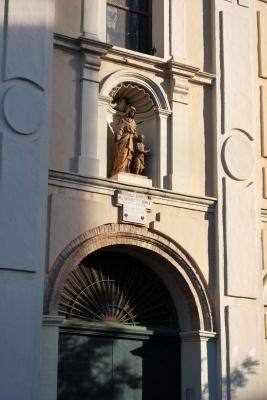 Iglesia del Salvador y Santa Monica