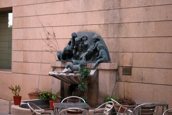 fontana nel Museo de las Bellas Artes