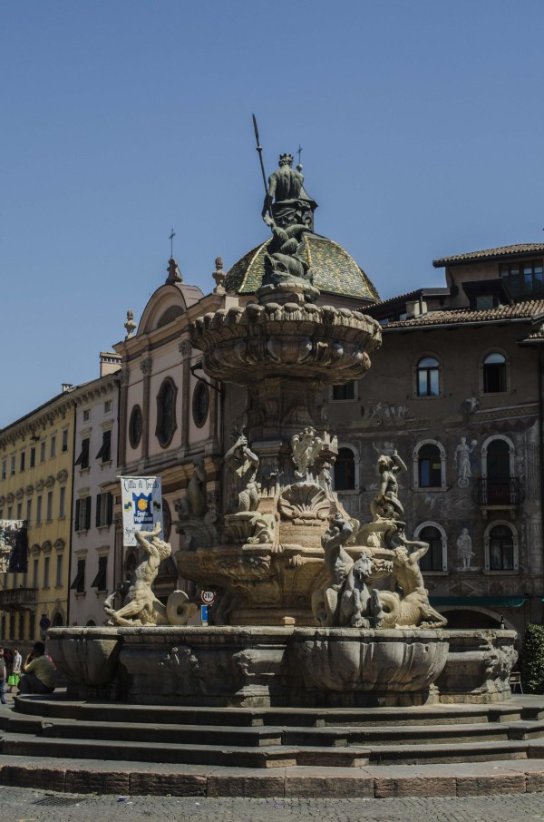 fontana di Nettuno, Trento