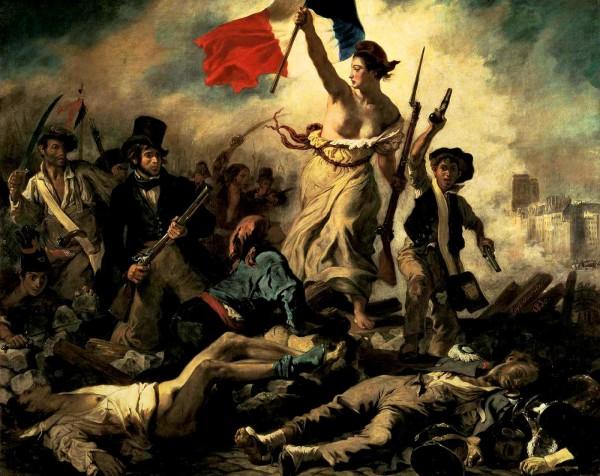 Libertà che guida il popolo alle barricate