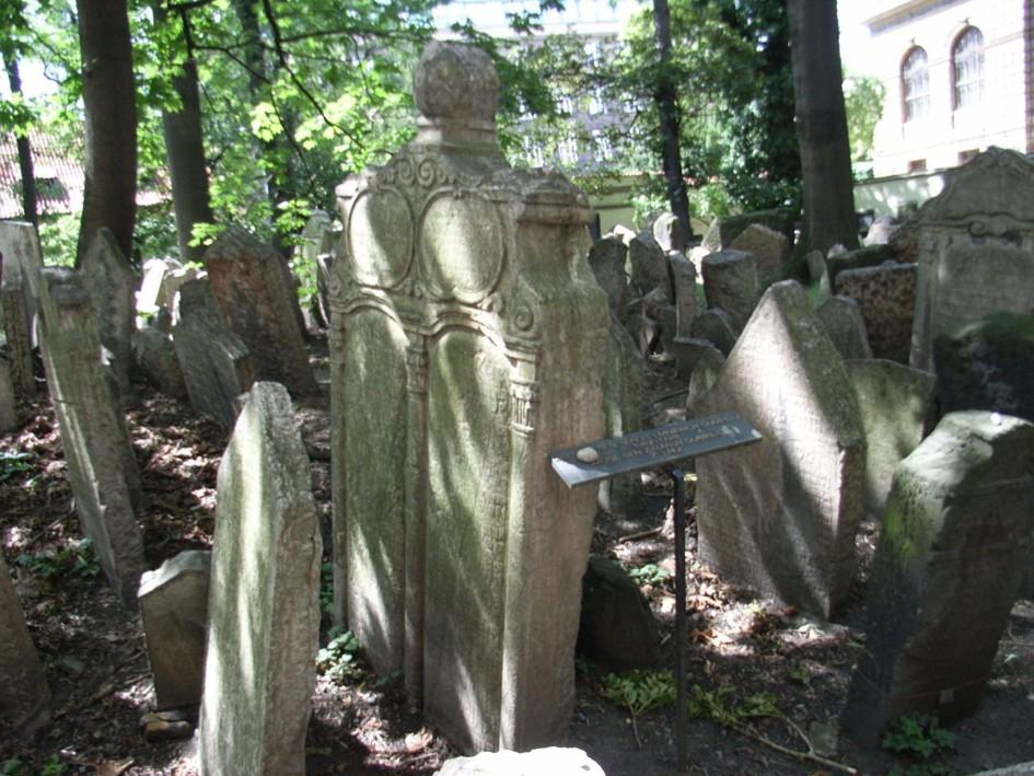 cimitero ebraico di Praga, Praga