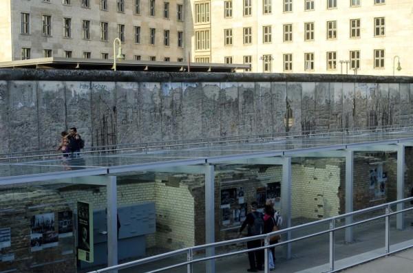 Berlino TOPOGRAPHIE DES TERRORS, Berliner Mauer, Muro di Berlino