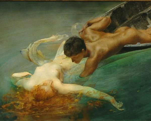 Giulio Aristide Sartorio, La Sirena