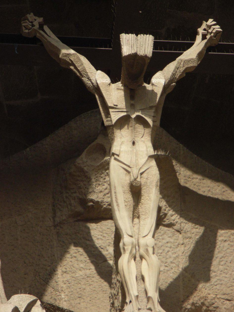 Crocifisso Sagrada Familia Barcellona