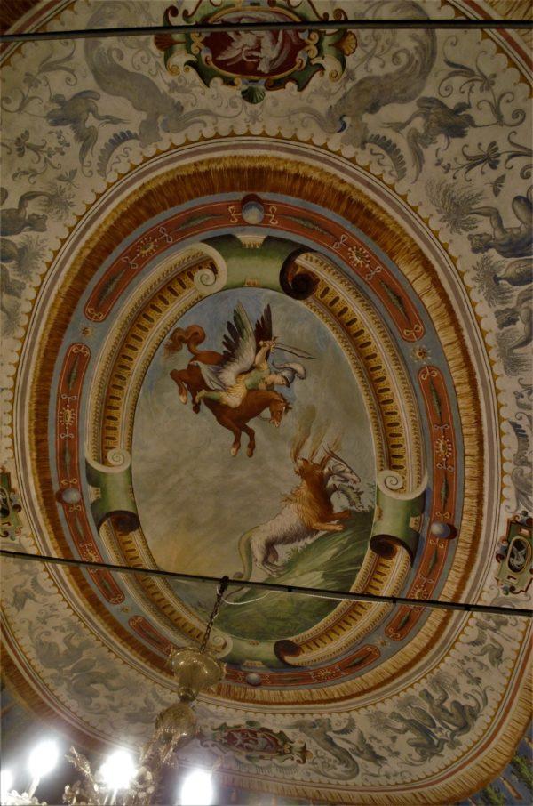Rocca di San Secondo Sala di Bellerofonte