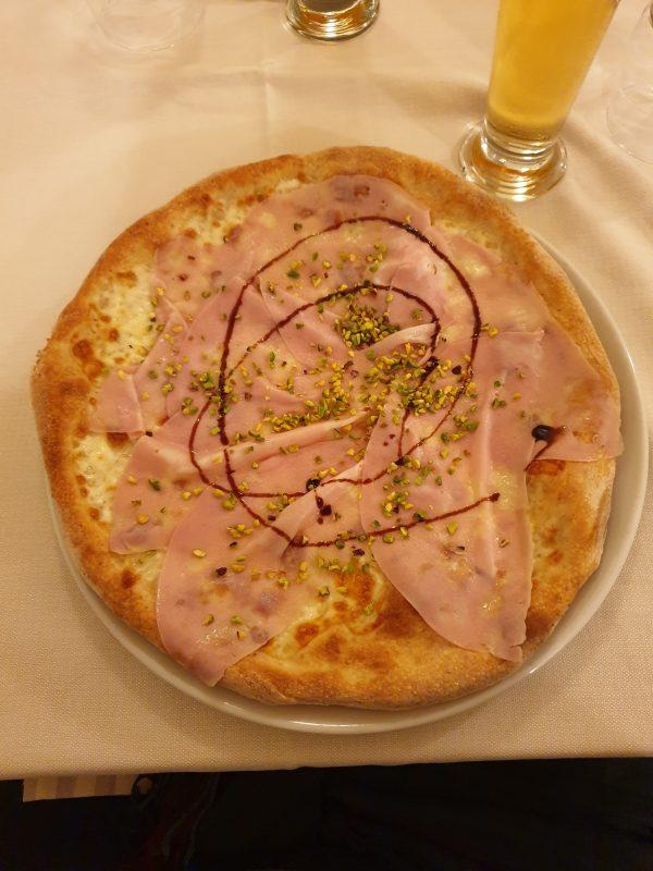 pizza con Luca L